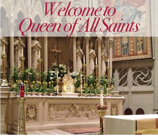 Welcome to Queen of All Saints